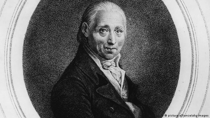 Portrait des Komponisten und Musikers Johann Baptist Vanhal, das Karl Riedel nach der Miniatur von Johann Adamek 1815 anfertigte. (Foto: picture-alliance/akg)