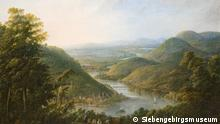 Georg Schneider's painting 'View from Niederwald of Bingen,' 1800