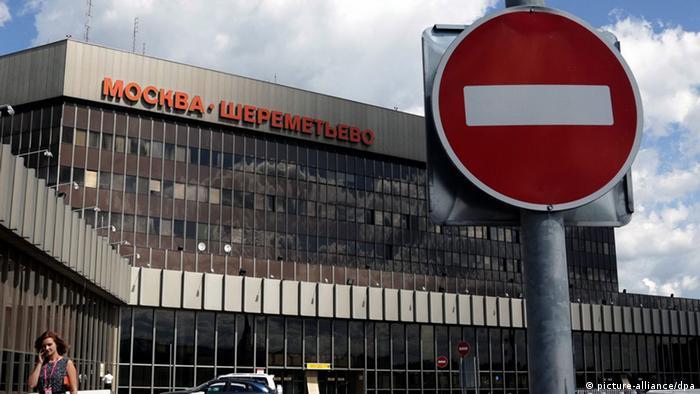 Der russische Flughafen Scheremetjewo (Foto: EPA/MAXIM SHIPENKOV)