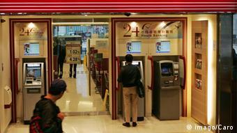 China Wirtschaft Bankautomat