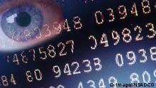 Bildnummer: 51456021 Datum: 01.09.2006 Copyright: imago/INSADCO Auge beobachtet einen Nummerncode, Objekte, Symbolfoto; 2006, EDV, Zahlensystem, Programmcode, Zahl, zahlen, Daten, Screenshot, Screenshots, Matrix, Fotomontage, Augen, Suche, suchen, beobachten, Rasterfahndung, Überwachung, 1984, Code, Codes, Verschlüsselung, Privatsphäre,; , quer, Kbdig, Einzelbild, Deutschland, , /, Kontrolle, Sicherheitskontrolle, Sicherheitslücke, Sicherheitslücken, Geheimzahl, Geheimzahlen, geheim, kontrollieren, Überwachung, überwachen, Zahlencode, Zahlencodes, Codierung, codieren, Mathematik, Wissenschaft, Mathematiker, Wissenschaftler, Genie, Genies, Genialität, Verschlüsselung, verschlüsselt, verschlüsselte, Nachricht, Nachrichten, codiert, codierte, Codierung, geheime
