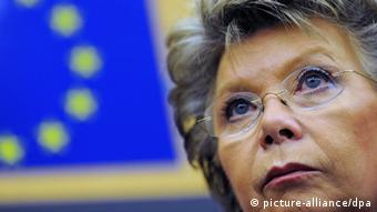 Portrait of Viviane Reding, Vice-President of the European Commission and European Commissioner for Justice Photo: EPA/PATRICK SEEGER