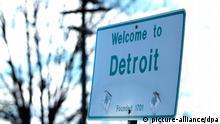 بالصور: ديترويت - أكبر مدينة أمريكية تعلن إفلاسها
