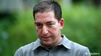 Glenn Greenwald Blogger Journalist 09.07.2013 in Rio de Janeiro