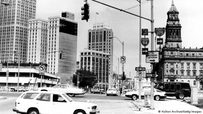 circa 1970: Detroit Innenstadt (Foto: Hulton Archive/Getty Images)