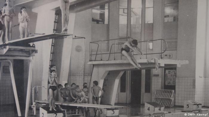 Бассейн в Петрикирхе. 1970-е годы