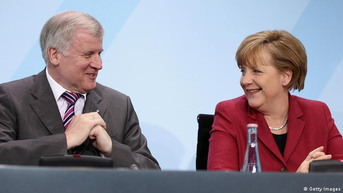 Horst Seehofer und Angela Merkel (Foto: Getty Images)