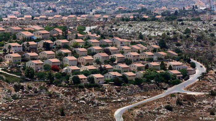 Panoramablick auf die jüdische Siedlung Ofra nördlich von Ramallah (Foto: Reuters)