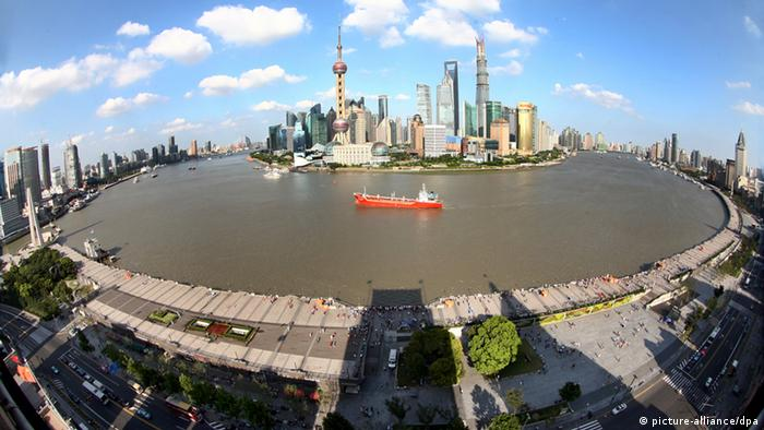 Shanghai Panorama (picture-alliance/dpa)
