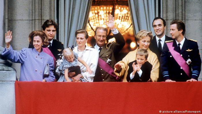 Royal family in 1993 (photo: Reuters)