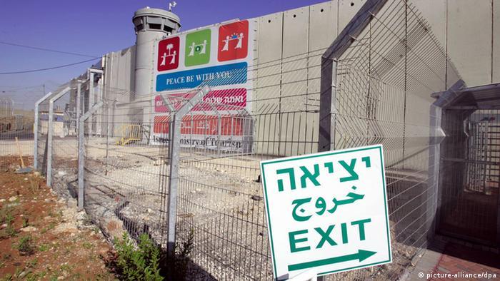 Israelische Sperranlagen trennen Jerusalem vom Westjordanland (Foto: dpa)