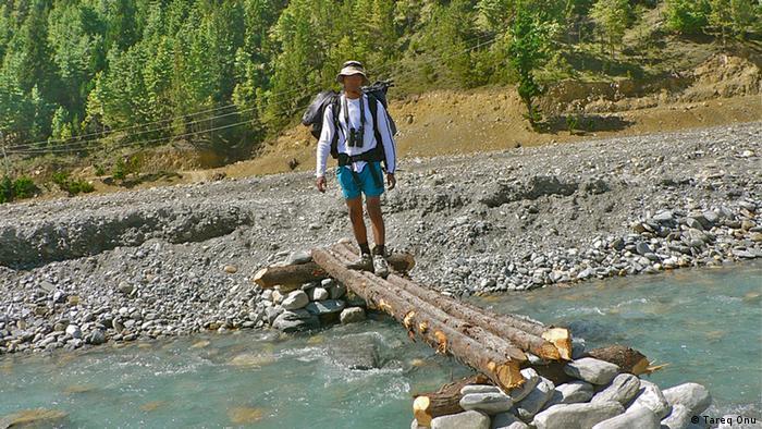 Tareq Onu Wandern in Nepal