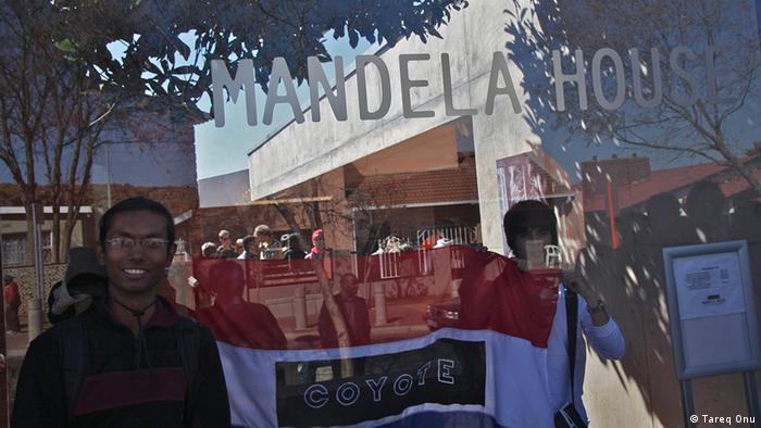 Tareq Onu Mandela House in Südafrika