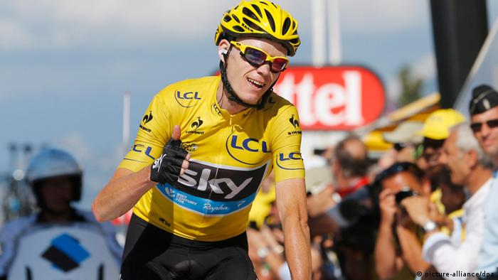 Chris Froome (Foto: dpa)