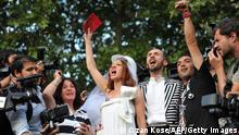 Türkei Gezi Park Hochzeit