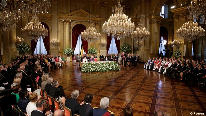 Pomp in the palace (photo: Reuters)
