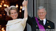 Das neue belgische Königspaar (Foto: dpa)