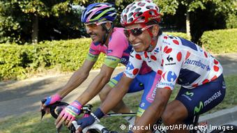 Radsport Tour de France Nairo Quintana Etappe 21