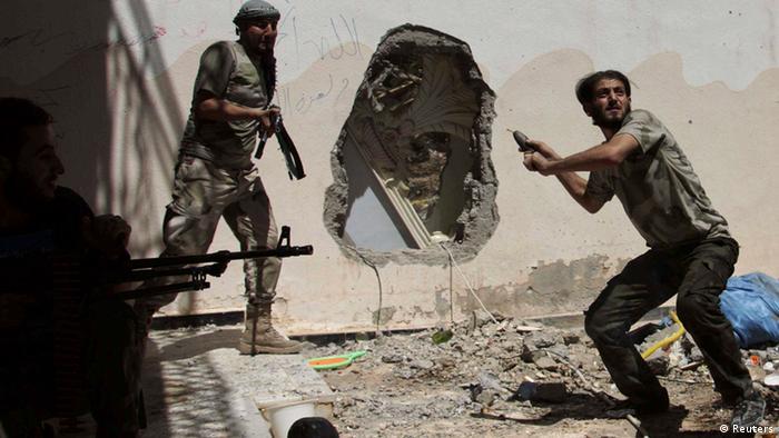 Бойцы сирийской оппозиции