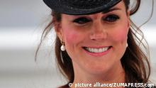 Schwangere Herzogin Kate Middleton (picture alliance/ZUMAPRESS.com)