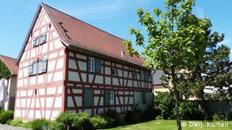 Дом, в котором родился Георг Бюхнер