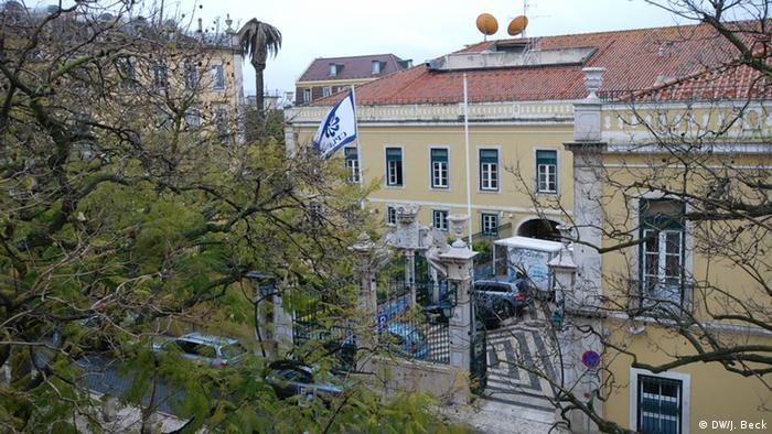 Sitz der CPLP - Gemeinschaft der Portugiesischsprachigen Staaten