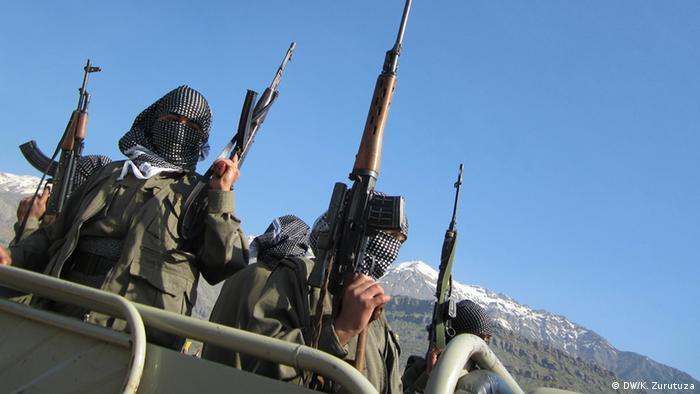 نیروهای پکک در شمال عراق