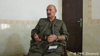 Sabri Ok is executive member of the Union of Kurdish Communities (KCK) in Kurdistan, the PKK's umbrella organization. Copyright: Karlos Zurutuza, DW Mitarbeiter, Nord-Irak, Juli 2013