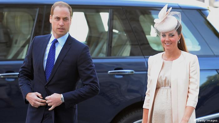 Prinz William und Kate (Foto: AFP/Getty Images)