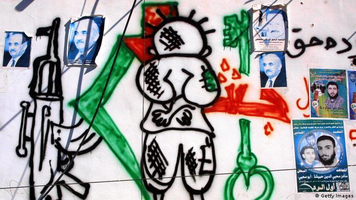 Arabische Comics - Handala (Getty Images)