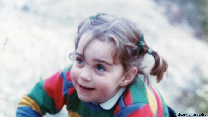 Three-year-old Kate Middleton (Photo: picture-alliance/dpa)