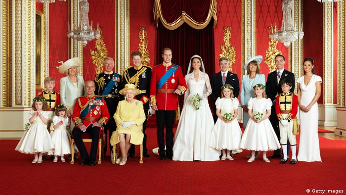Portrait of the Windsors and the Middletons (Getty Images)