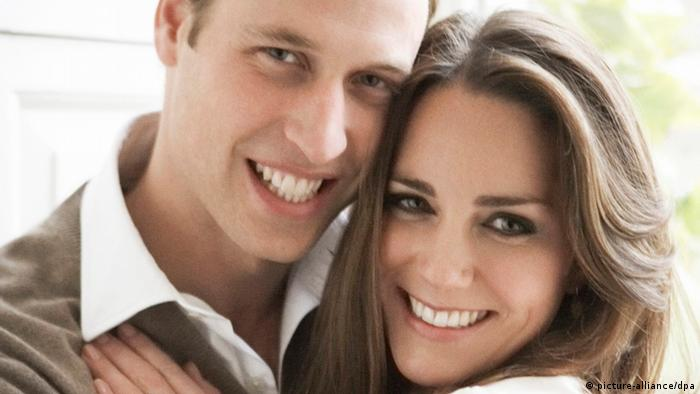 Prinz William and Kate Middleton, engagement photo by Mario Testino (Photo: picture-alliance/dpa)