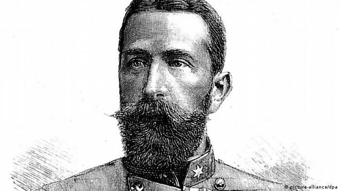 Porträt von Alexander I. Fürst von Bulgarien