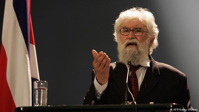 Der Befreiungstheologe Leonardo Boff aus Brasilien. Foto: AFP.Mayela Lopez