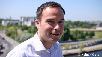 Ґреґор Гакмак - співзасновник ініціативи abgeordnetenwatch.de