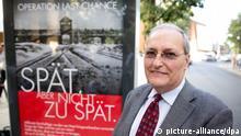 Efraim Zuroff Plakatkampagne Nazis Suche 23.07.2013 Berlin