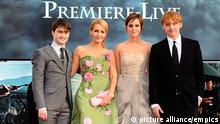 J. K. Rowling und die Harry Potter-Darsteller