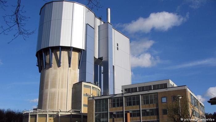 Stillgelegter Atomversuchsreaktor in Jülich