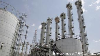 A general view of a heavy water plant in Arak (Photo: ATTA KENARE/AFP/Getty Images)