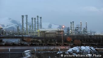 Se teme que el reactor de agua pesada en Arak, Irán, pueda ser usado para la producción de plutonio con fines armamentistas.