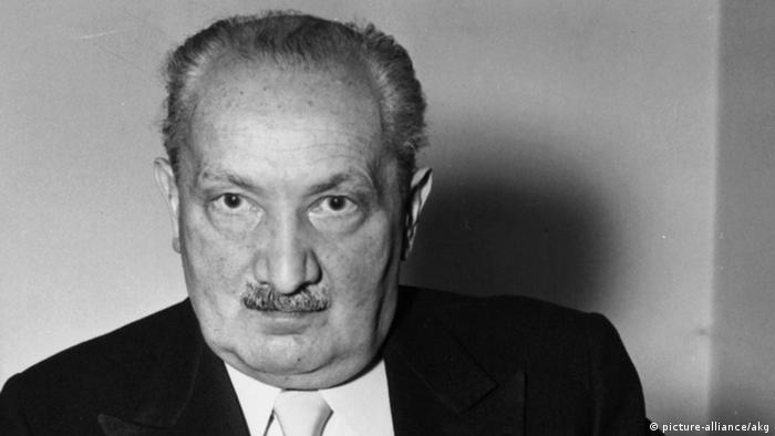 MArtin Heidegger (Foto: picture-alliance)