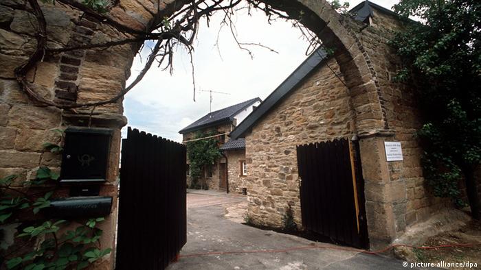 Въезд в загородный дом Генриха Белля