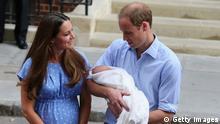 William und Kate mit Sohn