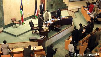 Südsudan Kabinett