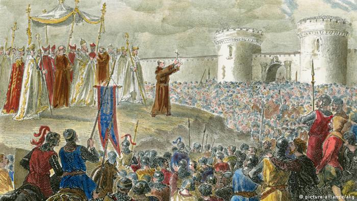 Резултат с изображение за Първия кръстоносен поход.