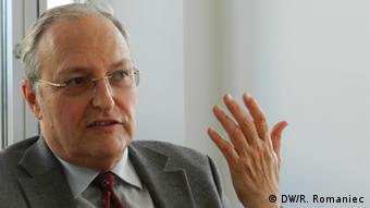 Efraim Zuroff (Photo: DW / Rosalia Romaniec)