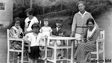 *06.06.1875-12.08.1955+ Schriftsteller, D Katja, Monika, Michael, Elisabeth, Thomas, Klaus und Erika Mann auf Hiddensee - 1924