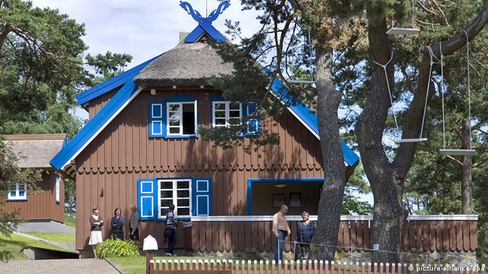 Дом Томаса Манна в поселке Нида в Литве