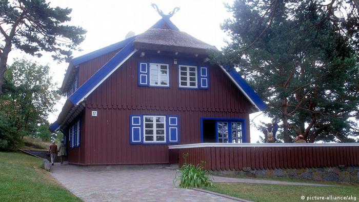 Deutschland Literatur Geschichte Thomas Mann Sommerhaus in Nida